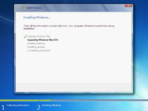 Instalando Windows7