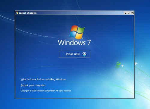 WIndows7 Instalacion