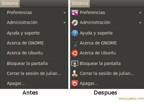 Activar Iconos Gnome Ubuntu