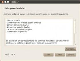 Resumen Instalacion Ubuntu