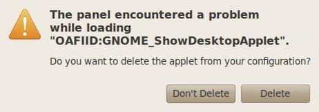 Error Ubuntu
