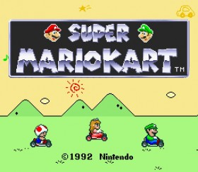 ZSNES - Mario Kart