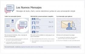 Nuevos Mensajes Facebook