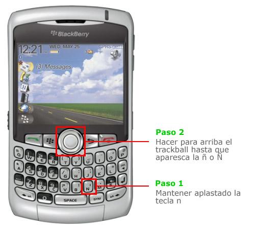 enie en blackberry