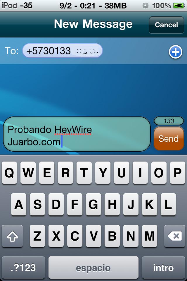 mensajes gratis para iphone