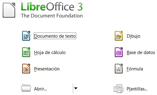 LibreOffice3 Descargar LibreOffice para Windows