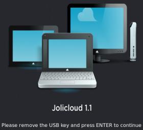 Instalar Jolicloud 1.1