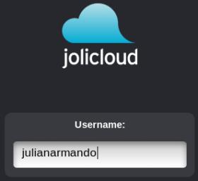 Iniciar Sesion Jolicloud