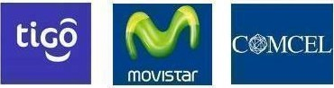Movistar, Comcel y Tigo
