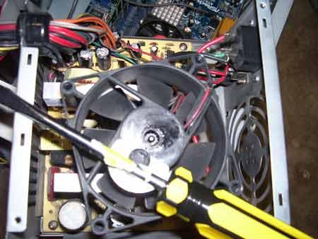 Mantenimiento Ventiladores PC