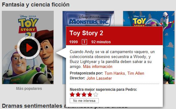 Peliculas Netflix