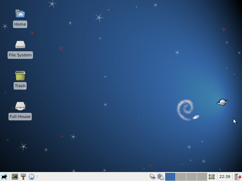 debian full house xfce