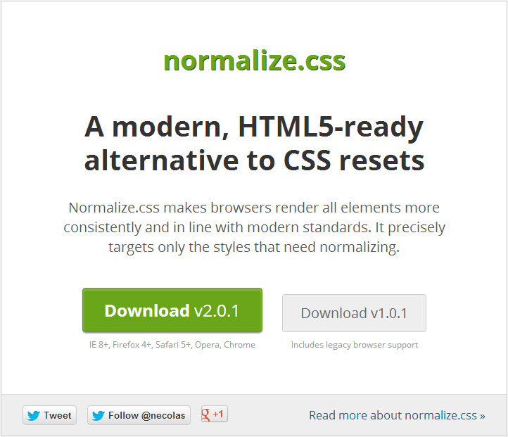 normalizeCss
