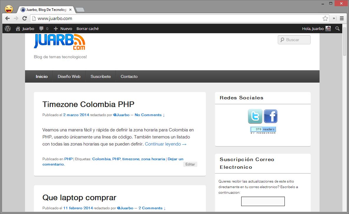 juarbo web