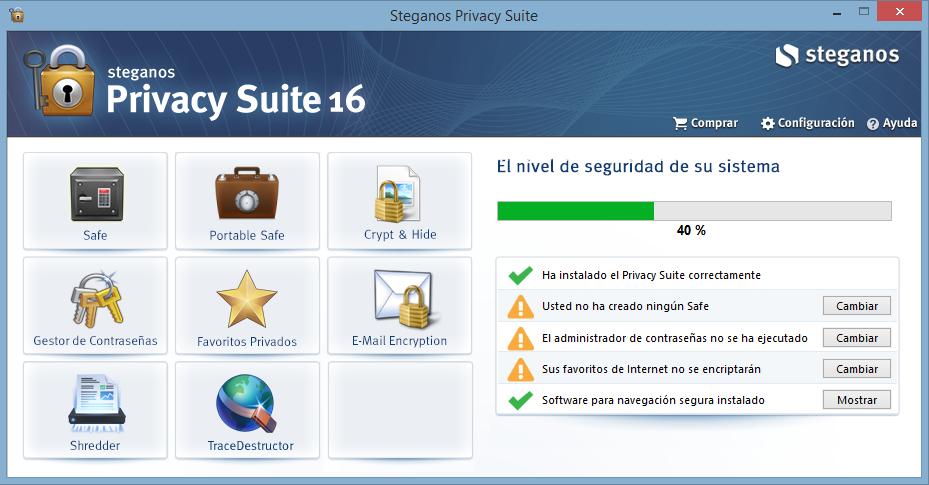 SteganosPrivacy Suite 16