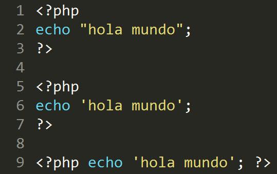 Hola Mundo PHP